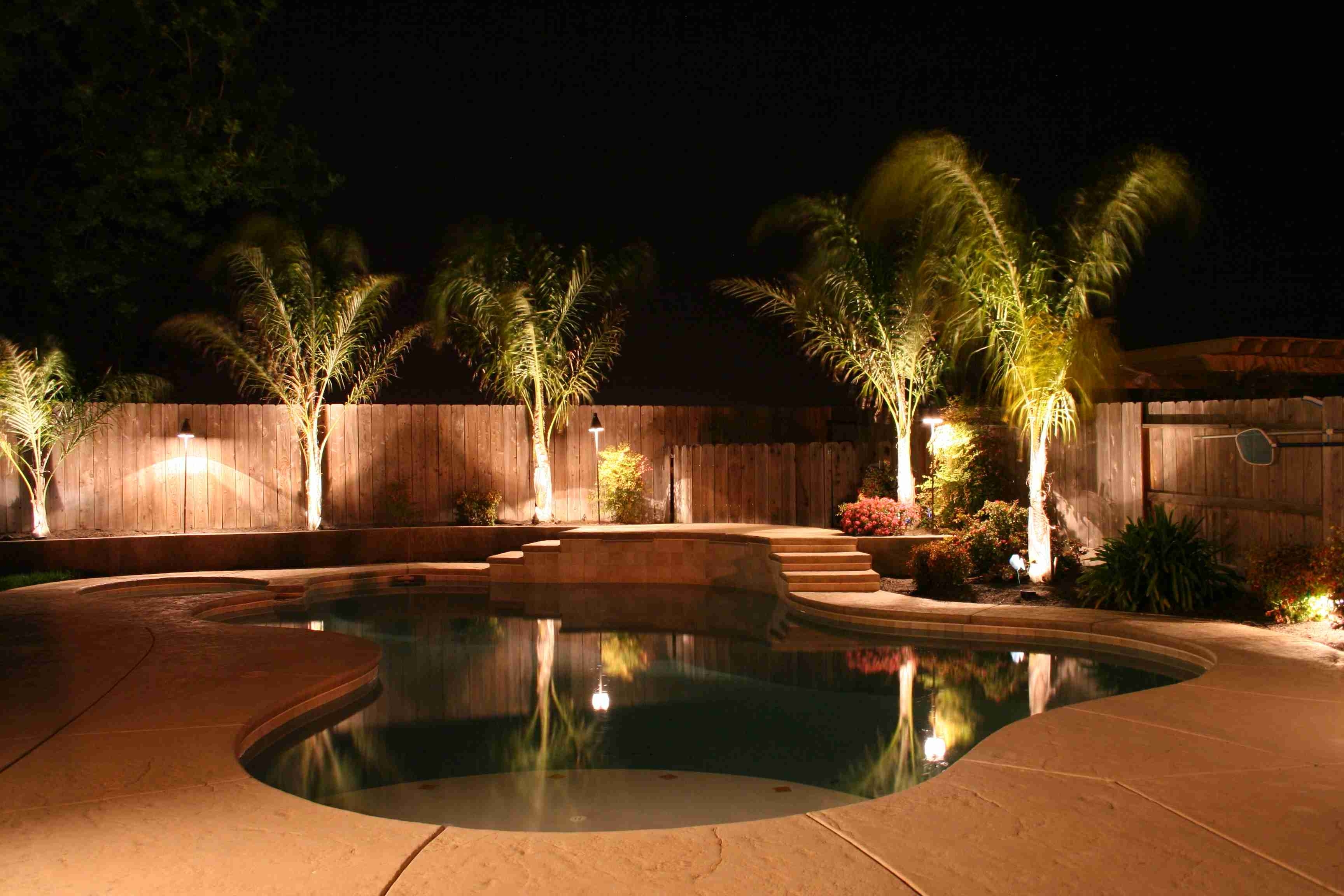 Outdoor Lanterns For Poolside With Regard To Well Known Lighting Definition Photography Task Led Pole Light Heads Outdoor (View 4 of 20)