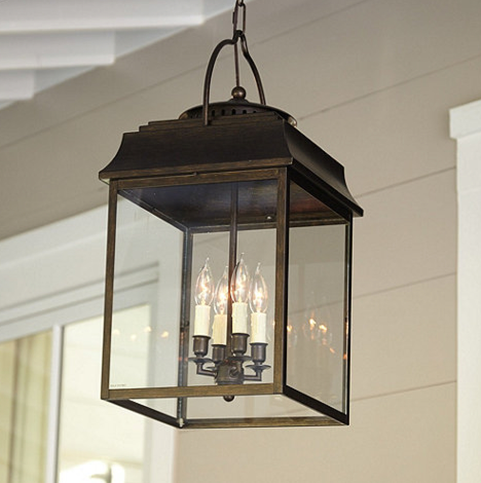 Outdoor Lanterns For Porch Within Most Recently Released Outdoor Lantern Lights Lanterns For Patio Hanging Gazebo Pendant (View 14 of 20)