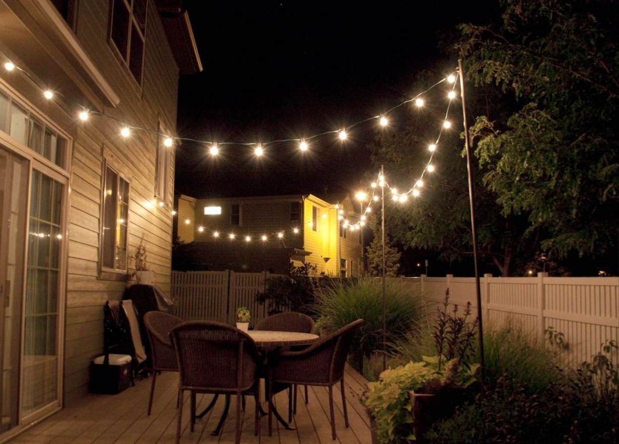 Outdoor Lanterns For Porch Within Trendy Ideas: Outstanding Classic Home Depot Outdoor Lights For Exterior (View 15 of 20)