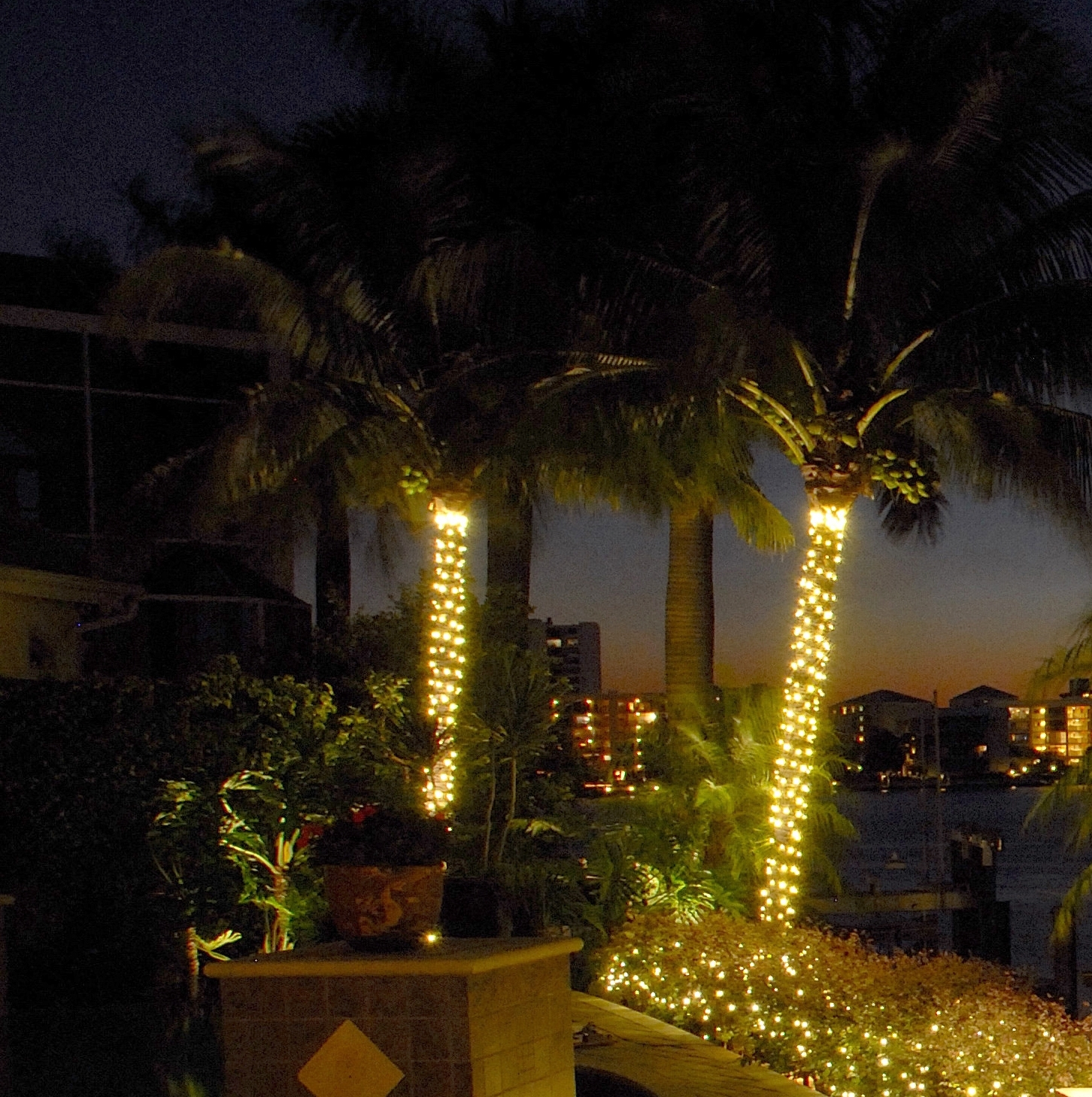 Outdoor Lanterns For Trees For Trendy Solar Lights For Trees Palm Tree Outdoor Photo 3 Outside String (View 10 of 20)
