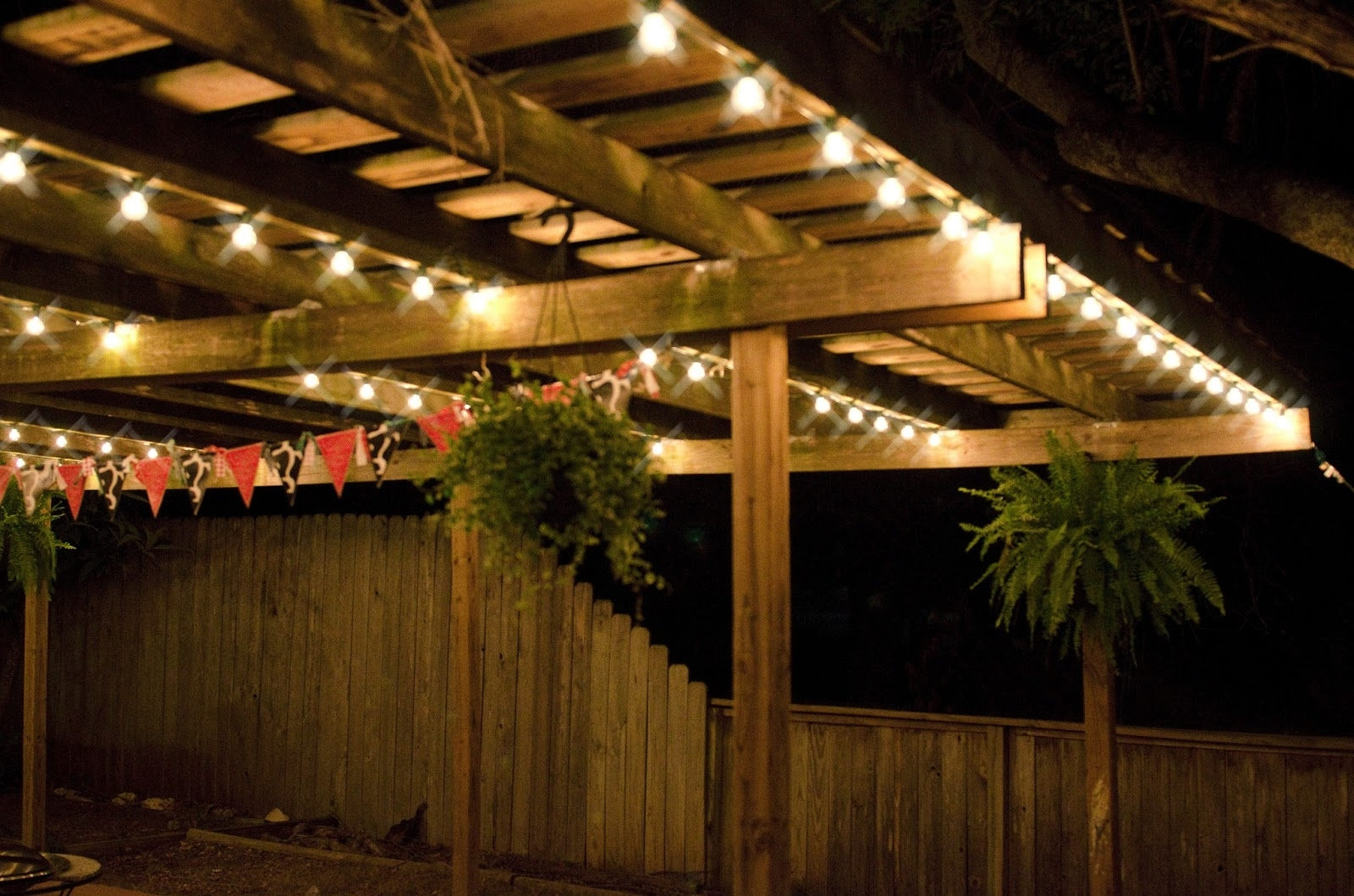 Outdoor Lanterns On String In Popular Ideas To Decorate Patio String Lights — Awesome House Lighting (View 6 of 20)