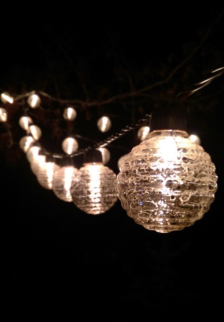 Outdoor Lanterns On String Inside Well Known White Outdoor Lights String – Outdoor Lighting Ideas (View 4 of 20)