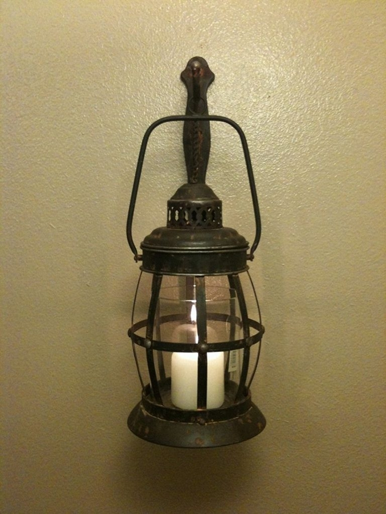 Outdoor Lanterns Sconces Wall Mounted Lighting Antique Style Intended For Most Current Plug In Outdoor Lanterns (View 11 of 20)