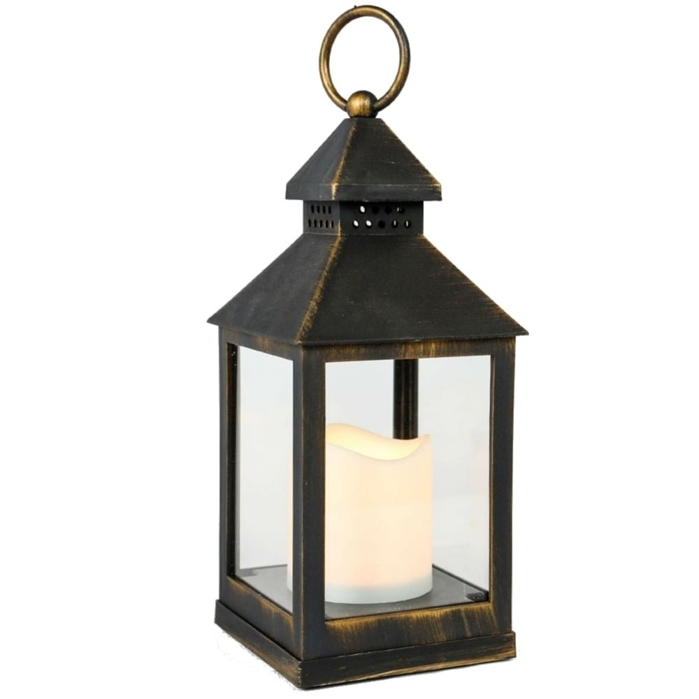Outdoor Lanterns With Battery Operated With Regard To 2019 Smart Garden Kentish Battery Operated Outdoor Lantern (View 20 of 20)