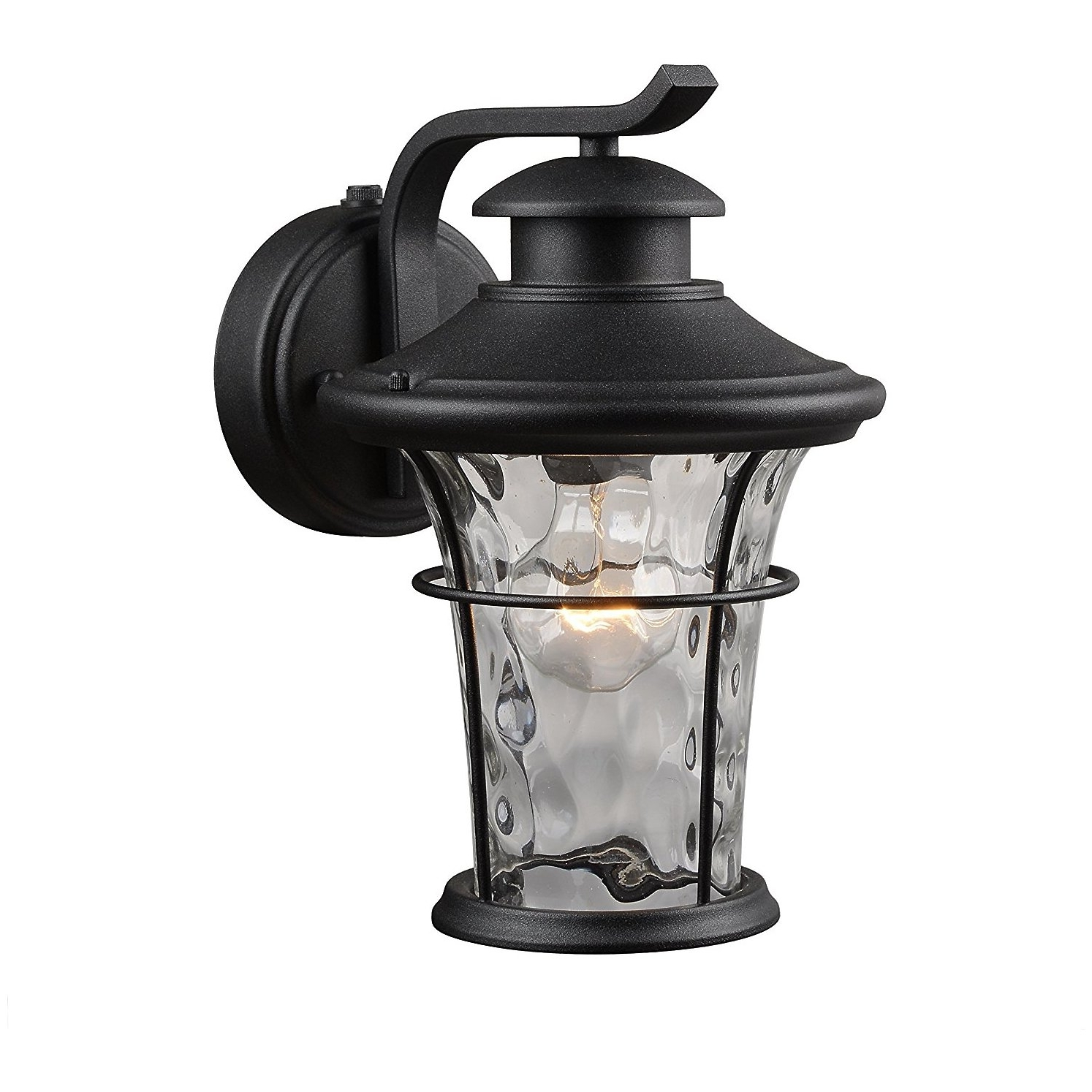 Outdoor Lanterns With Photocell In Most Up To Date Hardware House 21 2274 Outdoor Water Glass Wall Lantern With Photo (View 10 of 20)