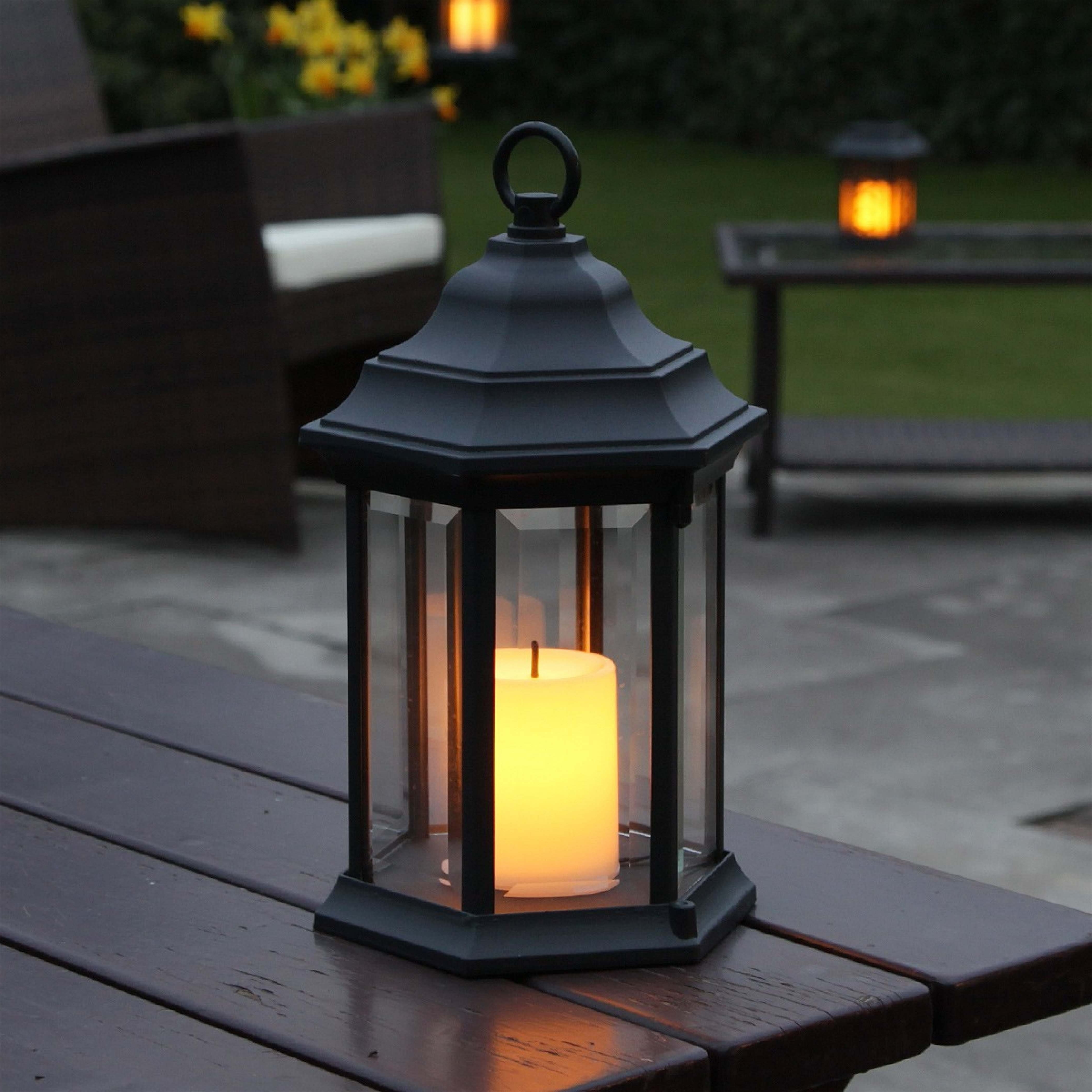Outdoor Lanterns With Timers (Gallery 10 of 20)