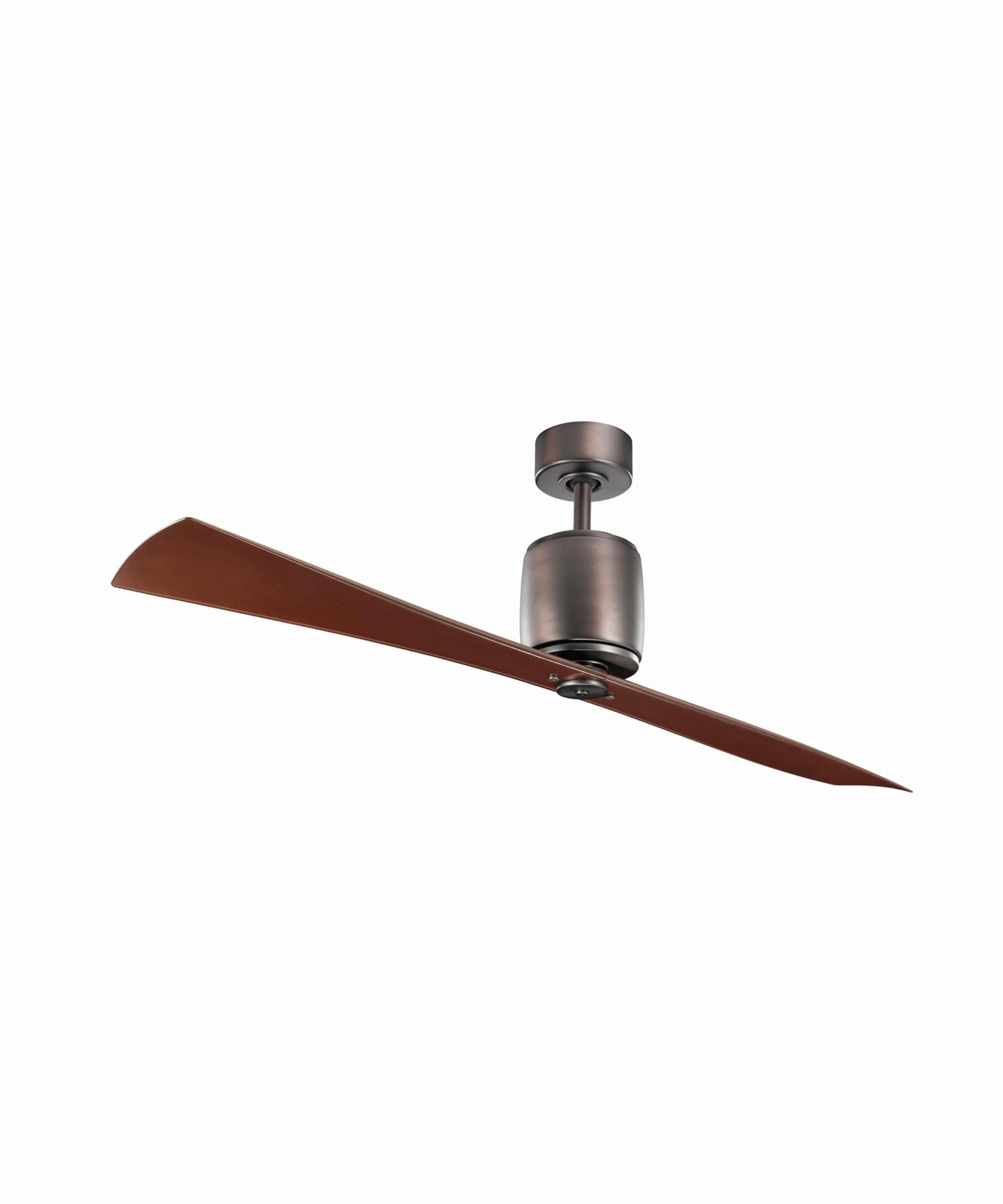 Outdoor Led Ceiling Fan Awesome Kichler Ferron 60 Inch 2 Blade With Regard To Recent Kichler Outdoor Ceiling Fans With Lights (View 16 of 20)
