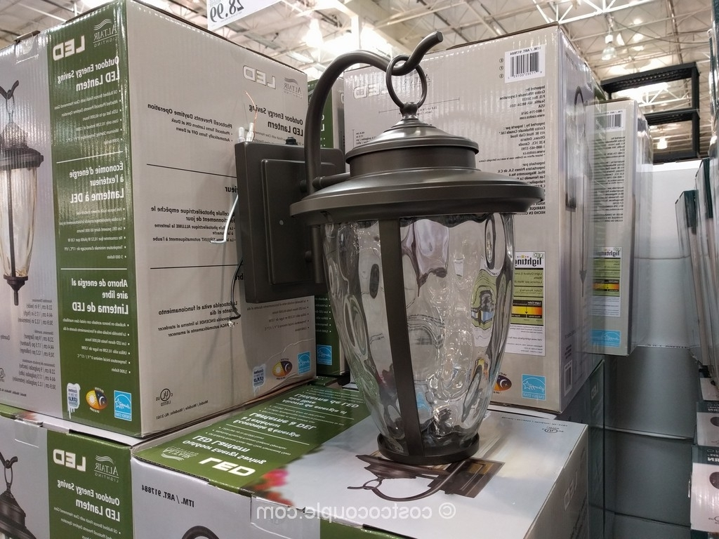 Outdoor Light Costco – Pixball Intended For Most Up To Date Outdoor Lanterns At Costco (View 15 of 20)
