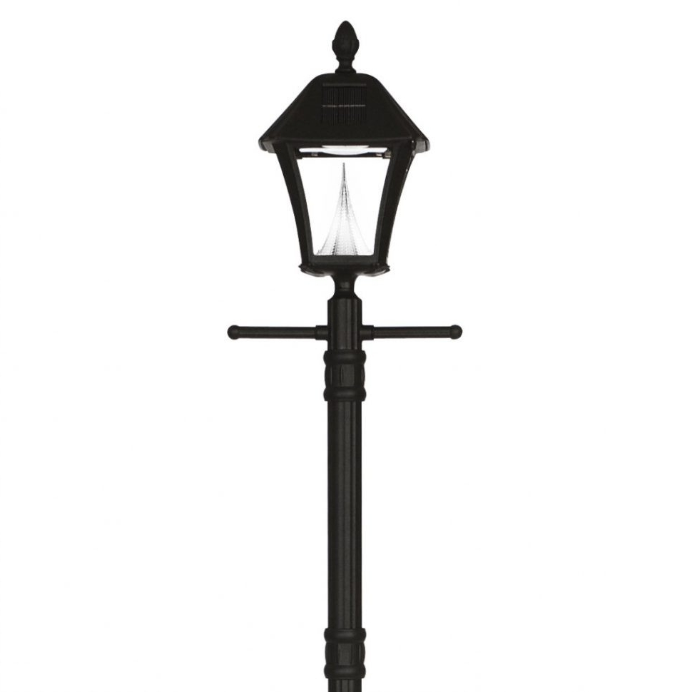 Outdoor Light Pole Electrical Outlet Post Lighting Electric Garden With Fashionable Outdoor Patio Electric Lanterns (View 8 of 20)