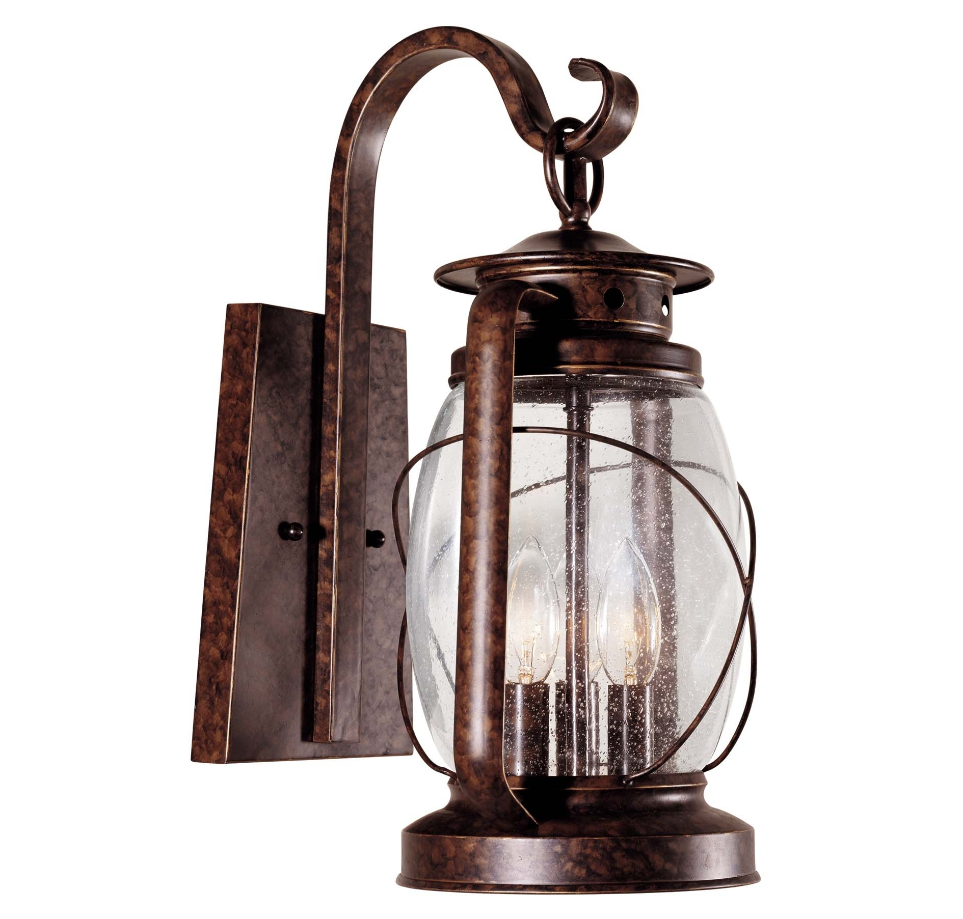 Outdoor Light With Outlet Plug Porch Fixtures Lighting Exterior Intended For Popular Large Outdoor Electric Lanterns (View 15 of 20)