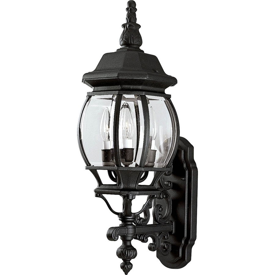 Outdoor Lighting Onion Lanterns For Well Known Shop Progress Lighting Onion Lantern 23.25 In H Textured Black (Gallery 13 of 20)