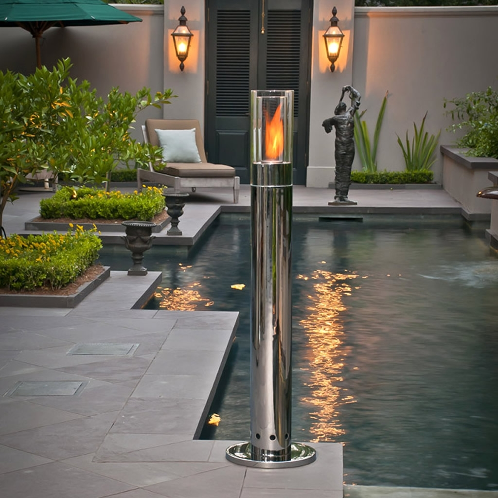 Outdoor Lighting Pillars – Outdoor Lighting Ideas Intended For Fashionable Outdoor Lanterns For Pillars (View 9 of 20)