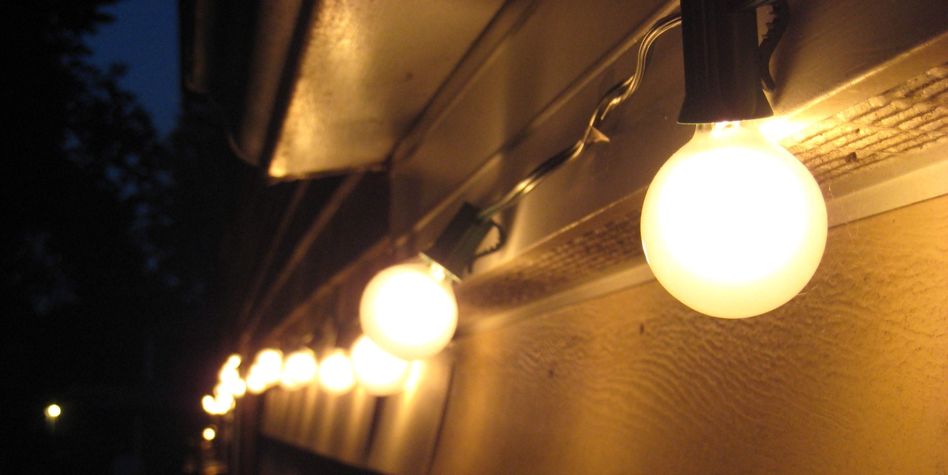 Outdoor Lighting String (View 16 of 20)