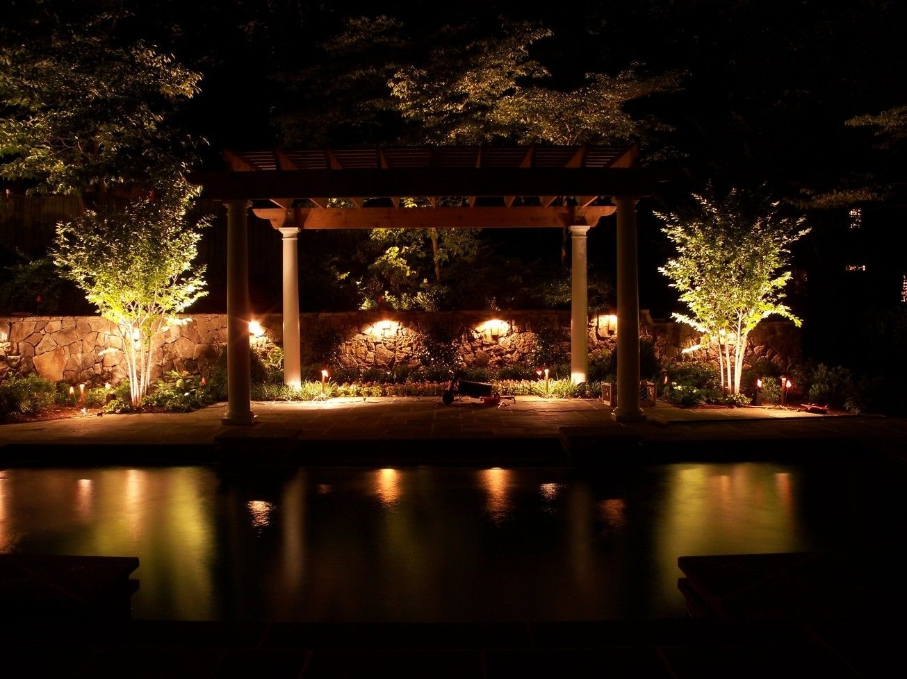 Outdoor Lighting Within Outdoor Lanterns For Poolside (Gallery 19 of 20)
