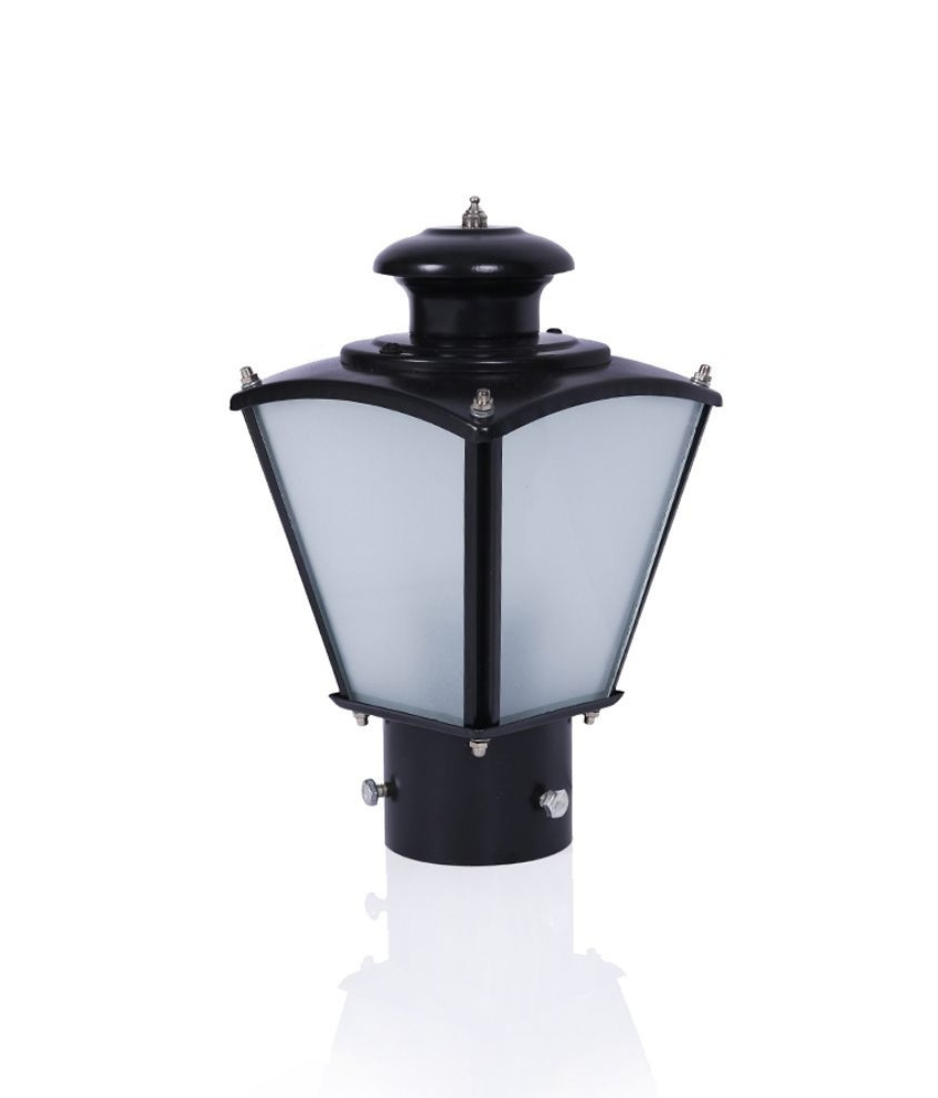 Outdoor Lights On Pillars Fresh Fos Lighting Classic Black Small In Current Outdoor Lanterns For Pillars (View 19 of 20)