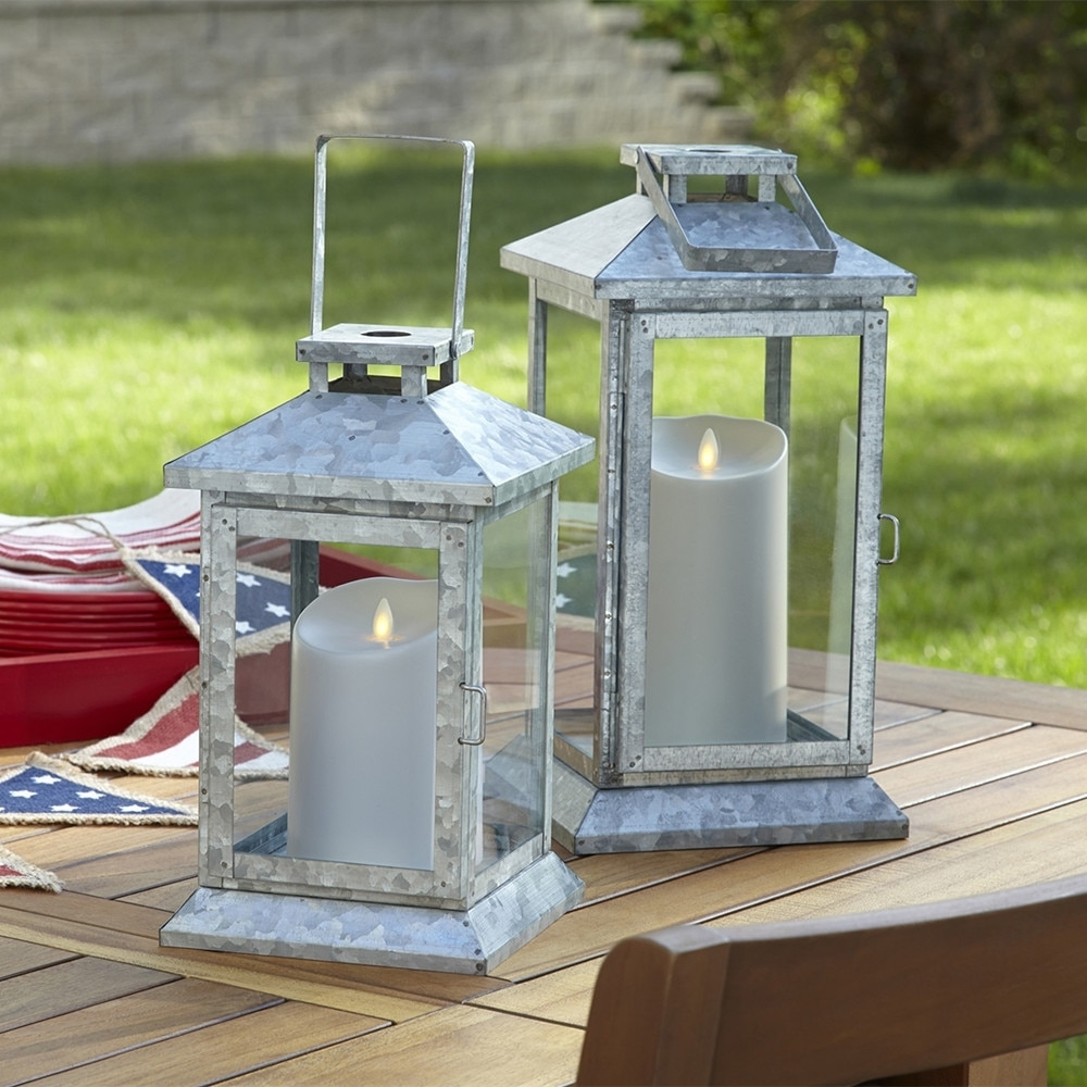 Outdoor Luminara Lanterns With Well Liked Luminara Outdoor Flameless Led Pillar Candles Waterproof Battery (View 17 of 20)