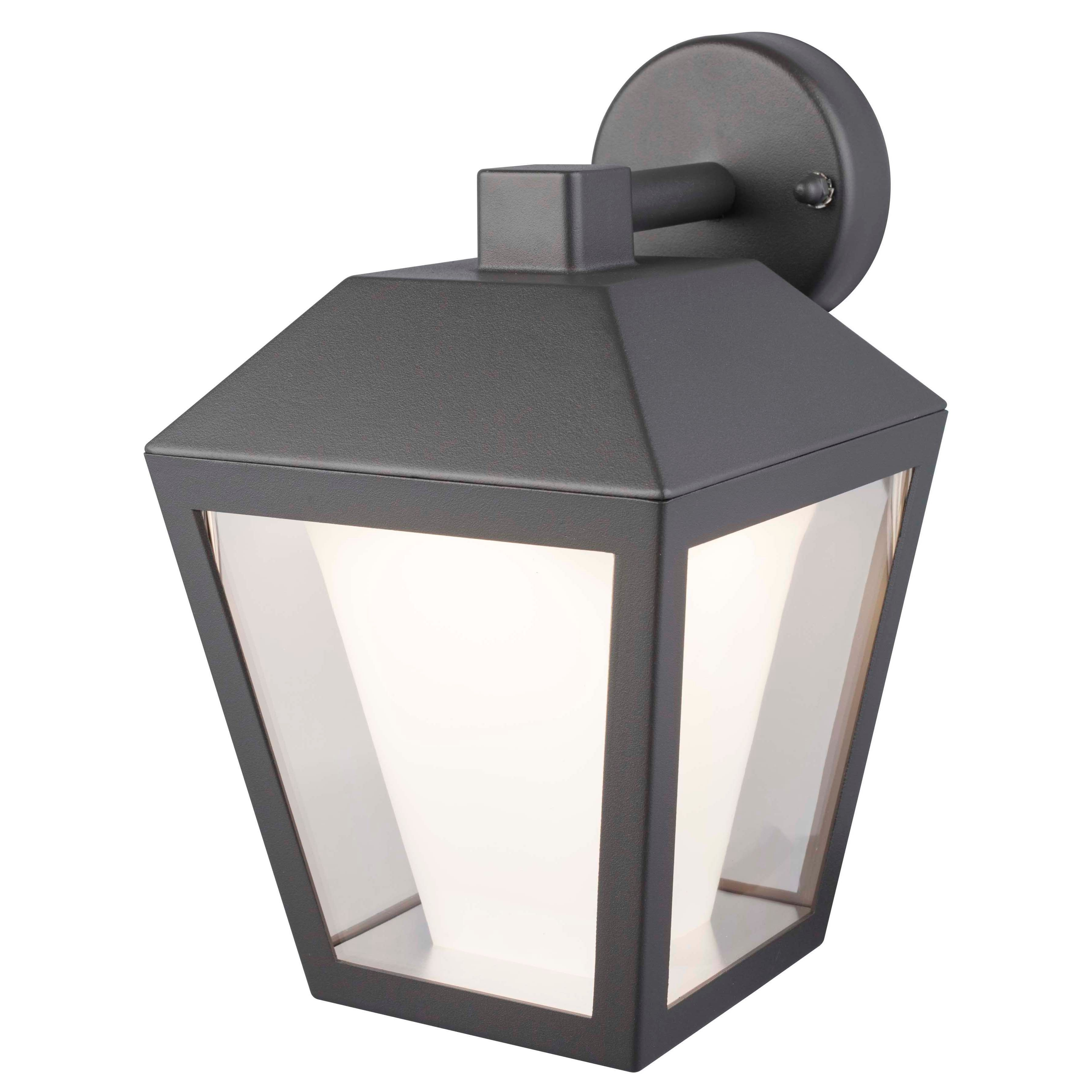 Outdoor Mains Lanterns Intended For Best And Newest B Q Outdoor Pir Security Lights – Outdoor Lighting Ideas (View 12 of 20)