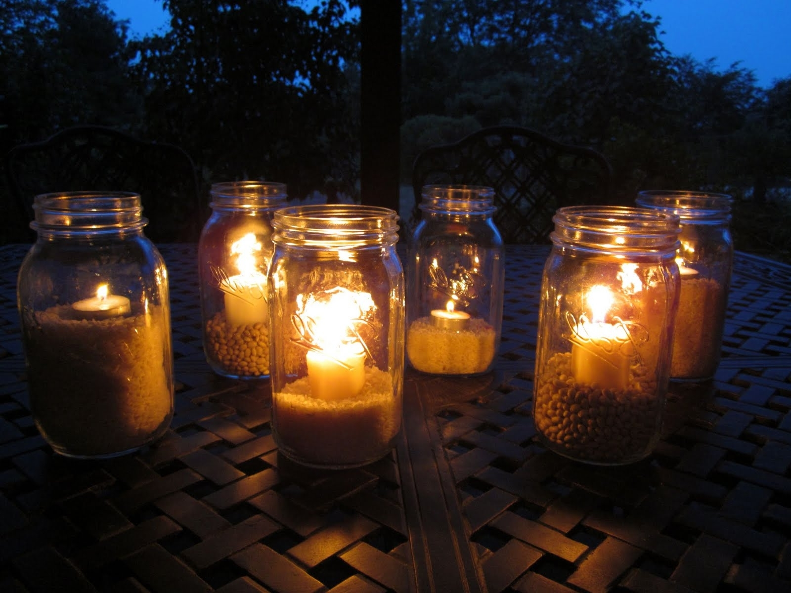 Outdoor Mason Jar Lights For Most Up To Date Outdoor Jar Lanterns (View 3 of 20)