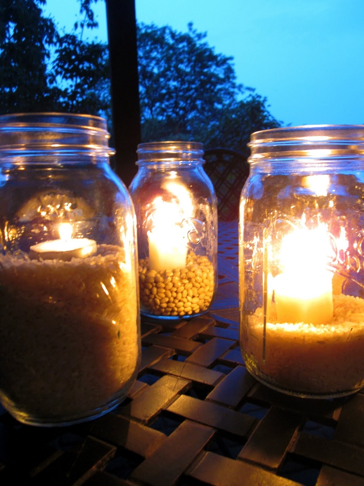 Outdoor Mason Jar Lights From Great Outdoor Mason Jar Lighting With Newest Outdoor Jar Lanterns (View 9 of 20)