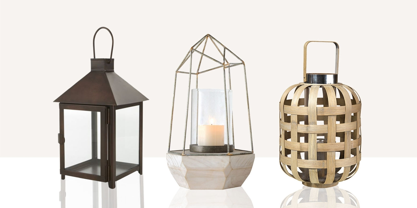 Outdoor Mosaic Lanterns For Most Current Lighting: Brighten Up Your Space With Stunning Candle Lanterns (View 14 of 20)