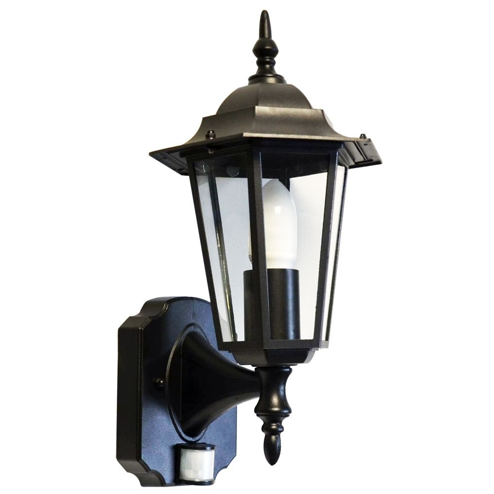 Outdoor Motion Lanterns Intended For Latest Wall Mount Outdoor Motion Lights – Outdoor Lighting Ideas (View 10 of 20)