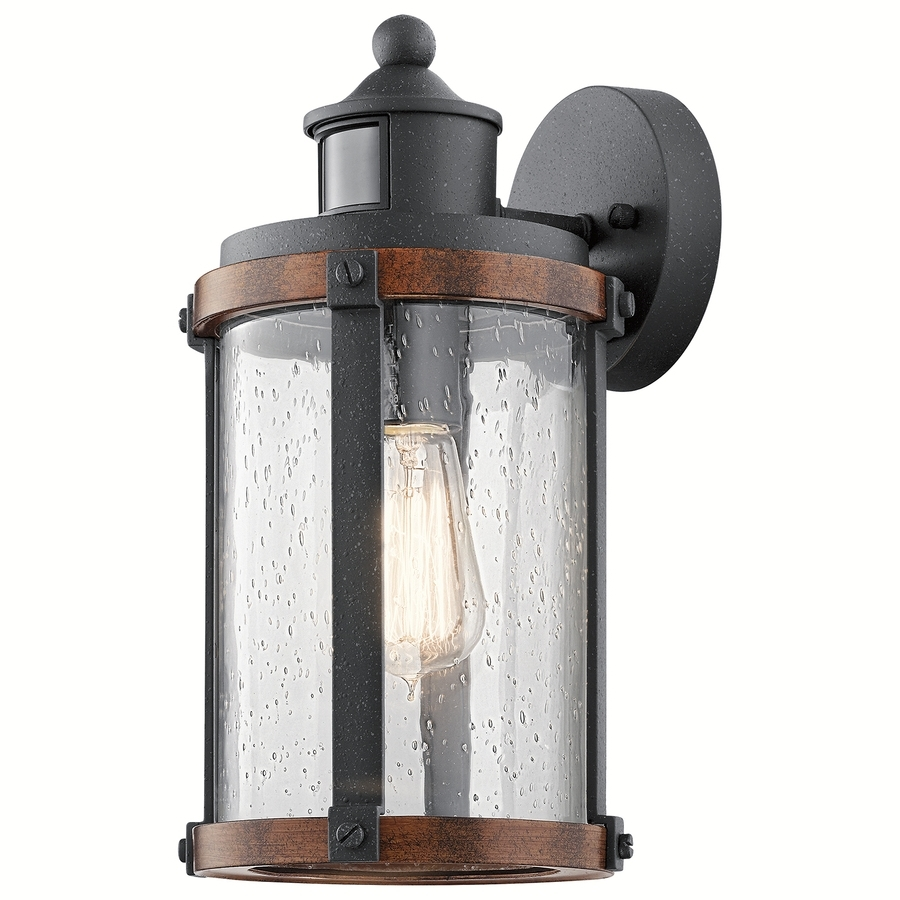 Outdoor Motion Lanterns Regarding 2019 Shop Outdoor Wall Lights At Lowes (View 10 of 20)