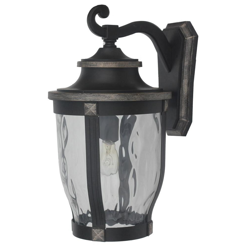 Outdoor Mounted Lanterns Regarding Most Popular Wall Mounted Lanterns Amazing Outdoor Lighting 1 Bronze Home (Gallery 6 of 20)