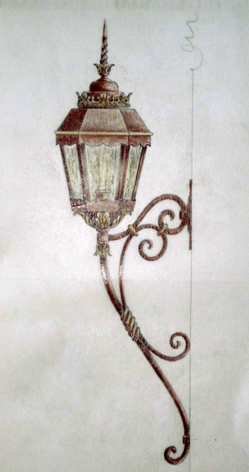 Outdoor Mounted Lanterns Throughout Favorite Outdoor Exterior Lanterns – Customlightstyles (View 11 of 20)