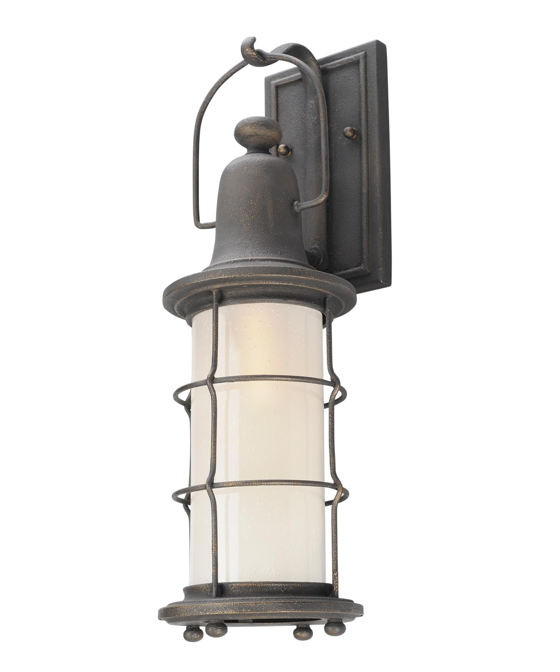 Outdoor Nautical Lanterns With Most Recent Troy Lighting B4441 Maritime 6 Inch Wide 1 Light Outdoor Wall Light (View 19 of 20)