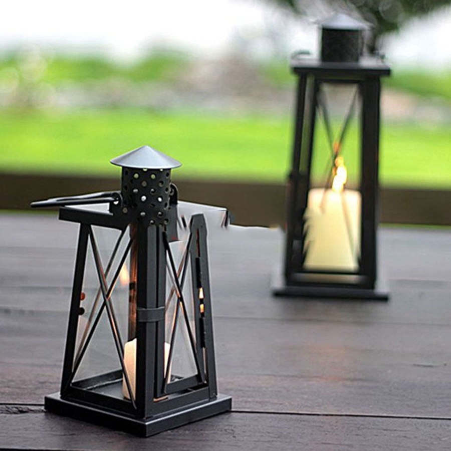 Outdoor Oil Lanterns For Popular Outdoor Lighting Wall Lamp Led Modern Bedroom Decorative Candle (Gallery 18 of 20)