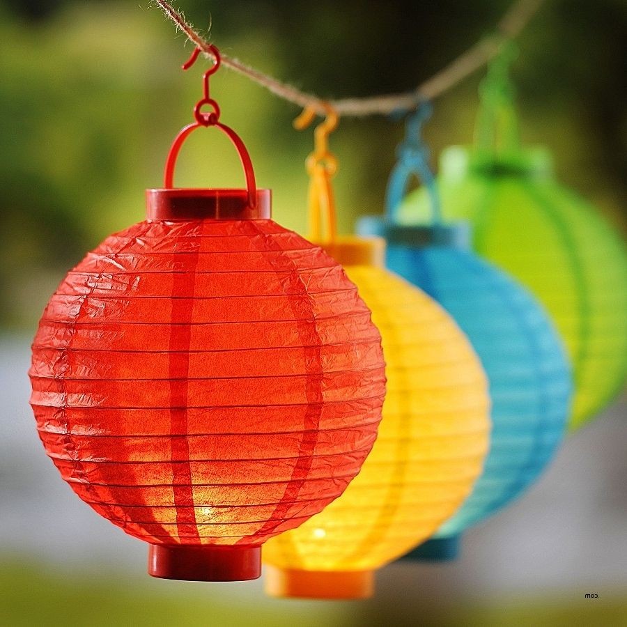Outdoor Paper Lanterns For Patio Pertaining To Well Known Patio Post Lights (View 13 of 20)