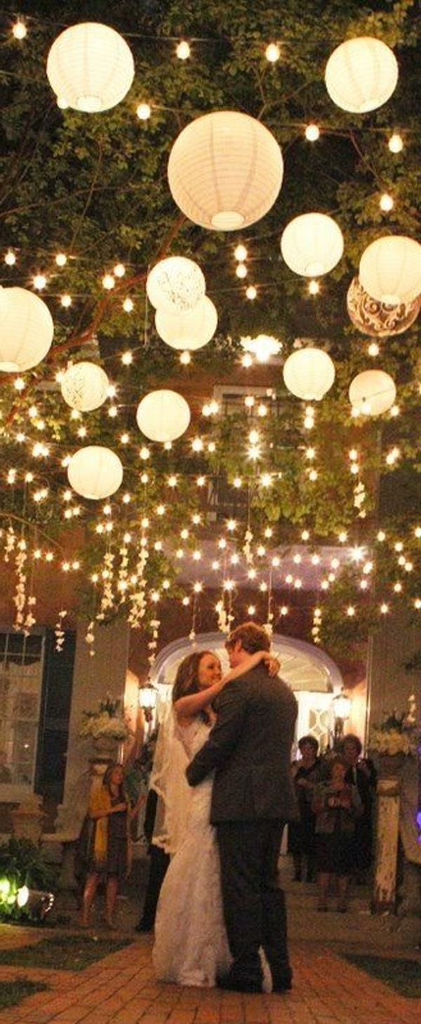 Outdoor Paper Lanterns With Regard To Most Popular Paper Lantern Lights Outdoor Luxury 215 Best Wedding Trends Paper (View 14 of 20)