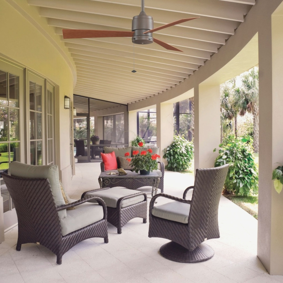 Outdoor Patio Ceiling Fans With Lights Regarding 2018 Lighting Your Lovely Outdoor Porch Ceiling Fans With . (View 14 of 20)