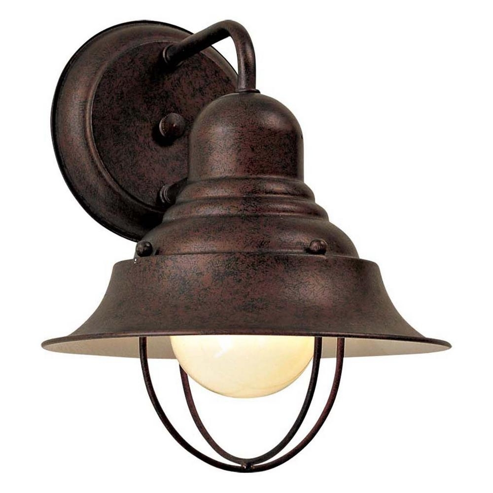 Outdoor Patio Electric Lanterns Throughout Most Current The Great Outdoors Minka Lavery Wyndmere Light Antique Bronze (Gallery 18 of 20)