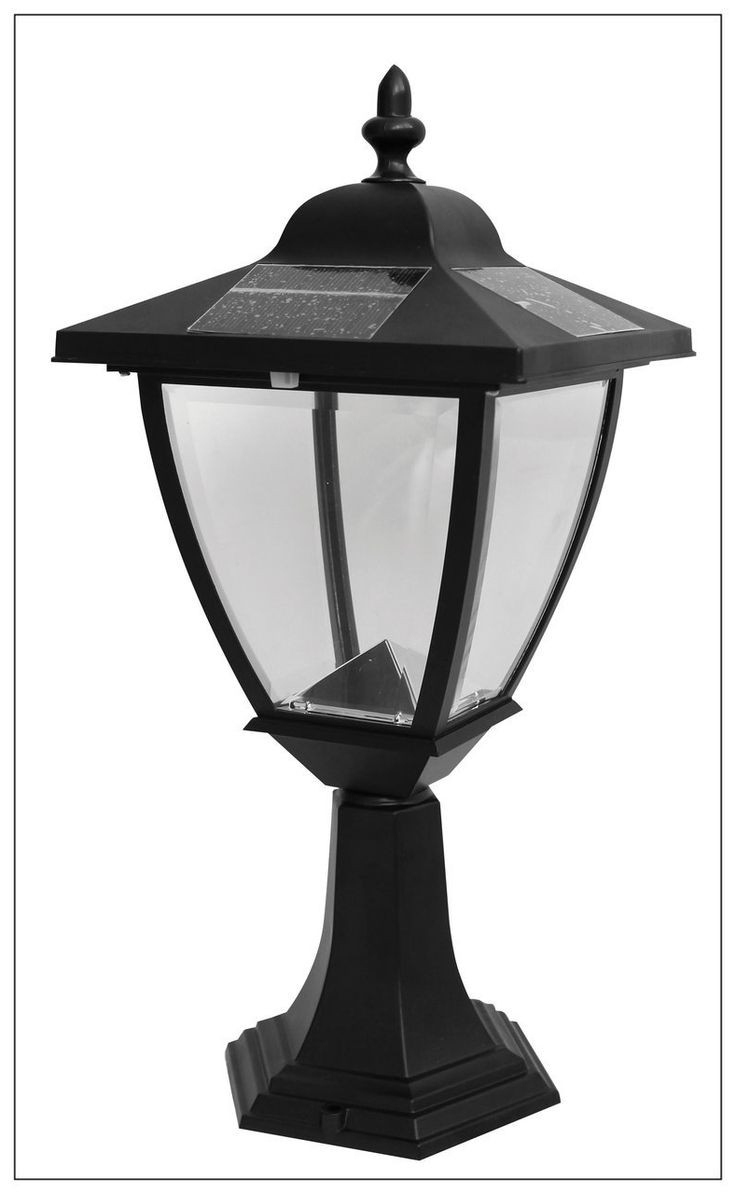 Outdoor Pillar Mounted Lights Best Of 11 Best Solar Carriage Pertaining To Fashionable Outdoor Pillar Lanterns (Gallery 12 of 20)