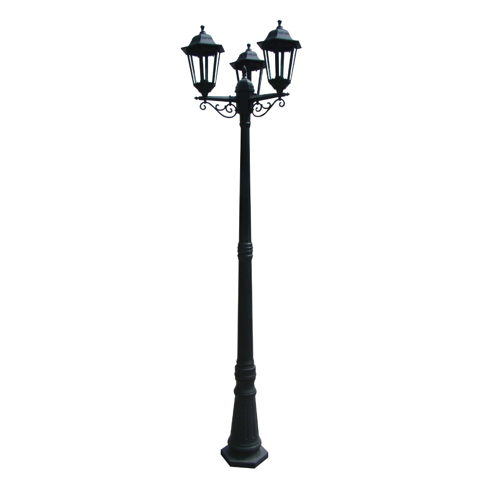 Outdoor Pole Lanterns Inside Latest Bollards, Bollard Lights & Pole Lanterns (View 5 of 20)