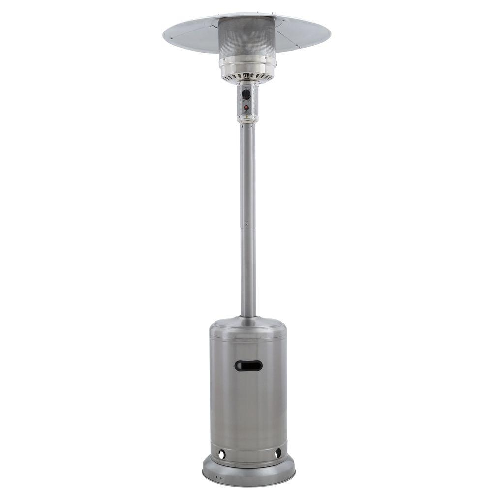 Outdoor Propane Lanterns Inside Trendy Gardensun 41,000 Btu Stainless Steel Propane Patio Heater Hss A Ss (View 16 of 20)