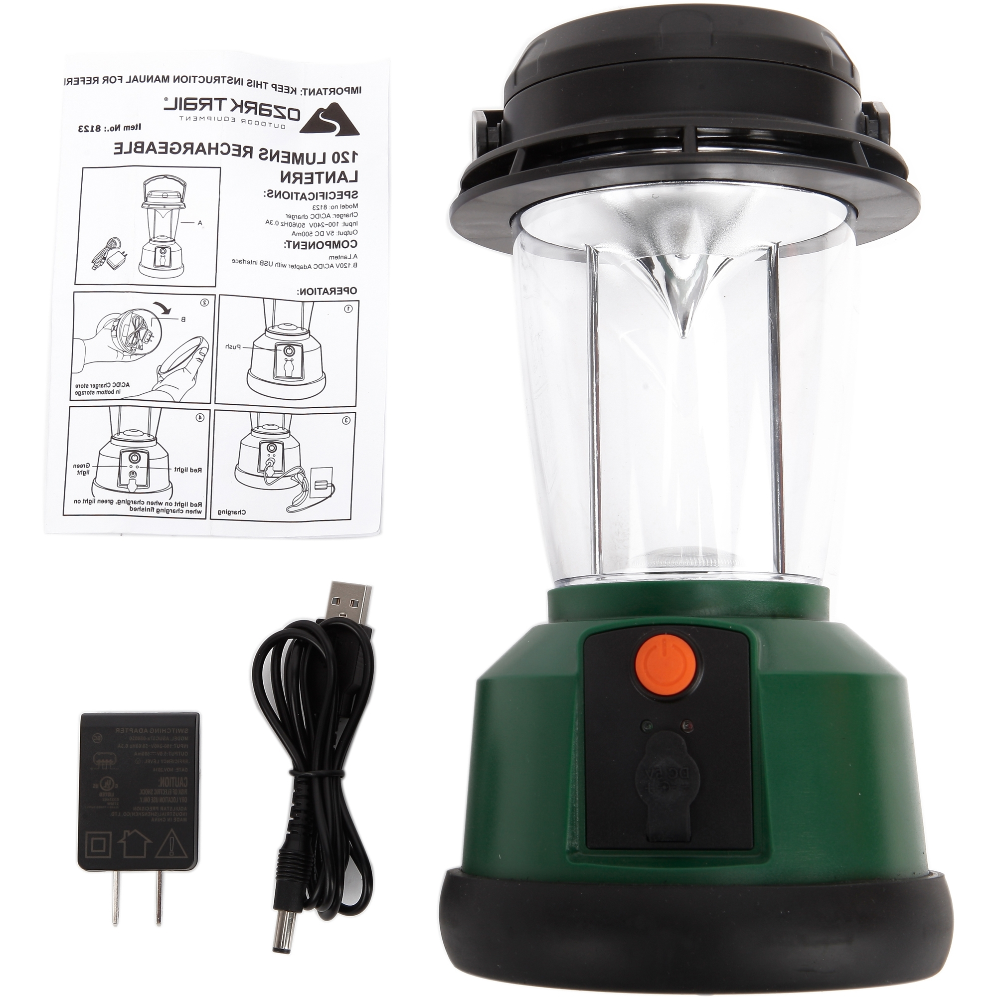 Outdoor Rechargeable Lanterns With Regard To Fashionable Led Rechargeable Lantern With 3 Mods And Usb Interface, 120 Lumens (View 15 of 20)