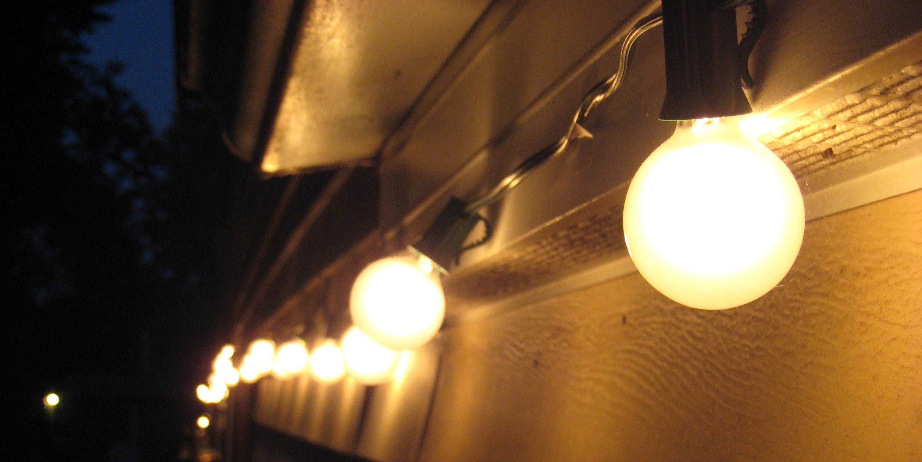 Outdoor Rope Lanterns Regarding Recent Outdoor Lighting String (View 13 of 20)