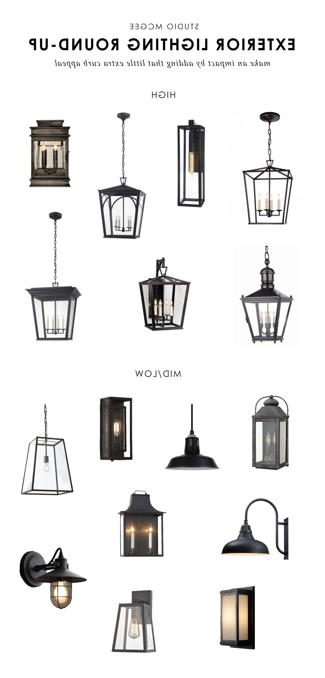 Outdoor Round Lanterns For Most Current Our Top Picks: Exterior Lighting (View 16 of 20)