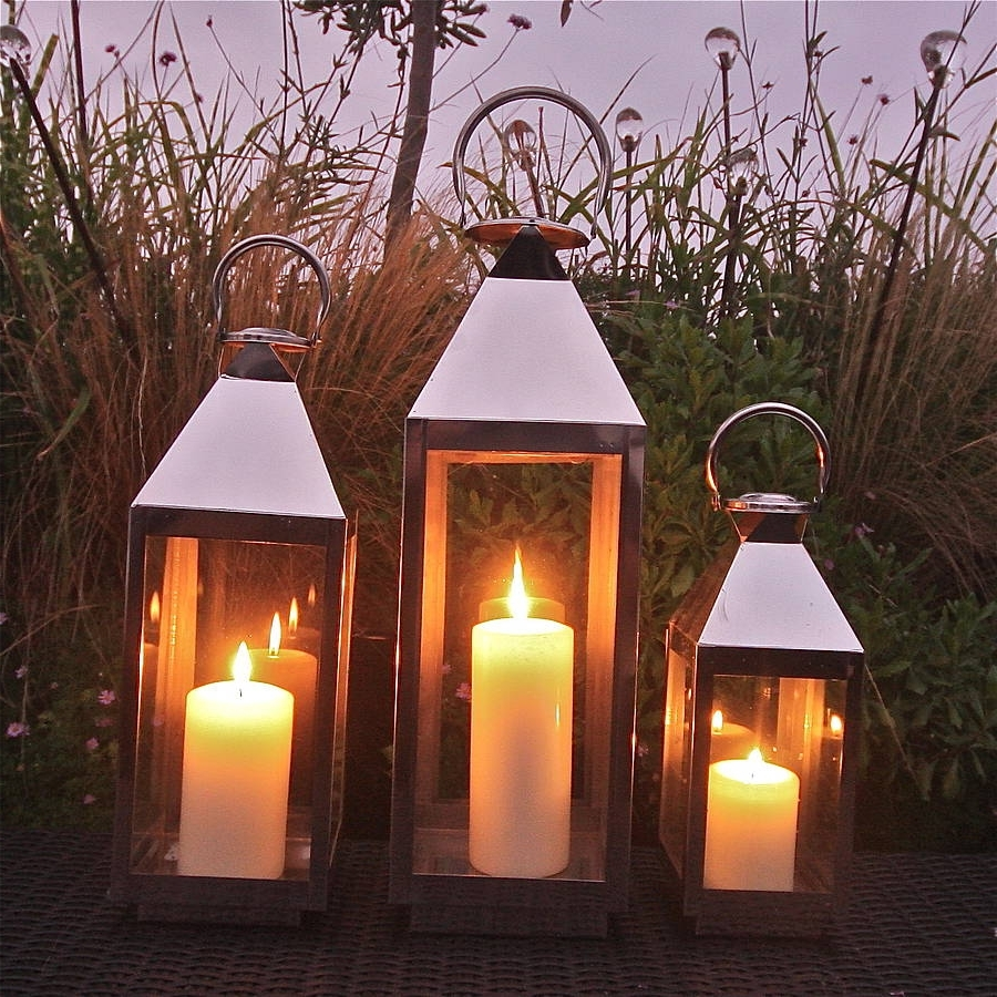 Outdoor Storm Lanterns Intended For Most Popular St Mawes Hurricane Garden Lanternlondon Garden Trading (View 3 of 20)