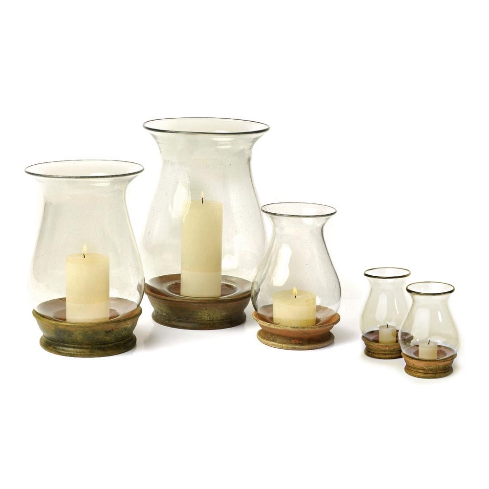 Outdoor Storm Lanterns With Regard To Fashionable 17 Outdoor Hurricane Lamps, Decorative Hurricane Glass Candle Holder (View 13 of 20)