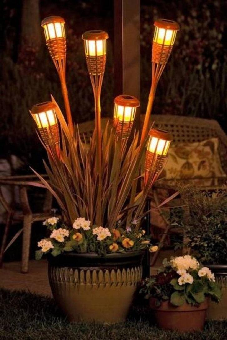 Outdoor Tiki Lanterns With Favorite Diy Rattan Tiki Torch Outdoor Patio Lights Superb Diy Outdoor Garden (View 18 of 20)