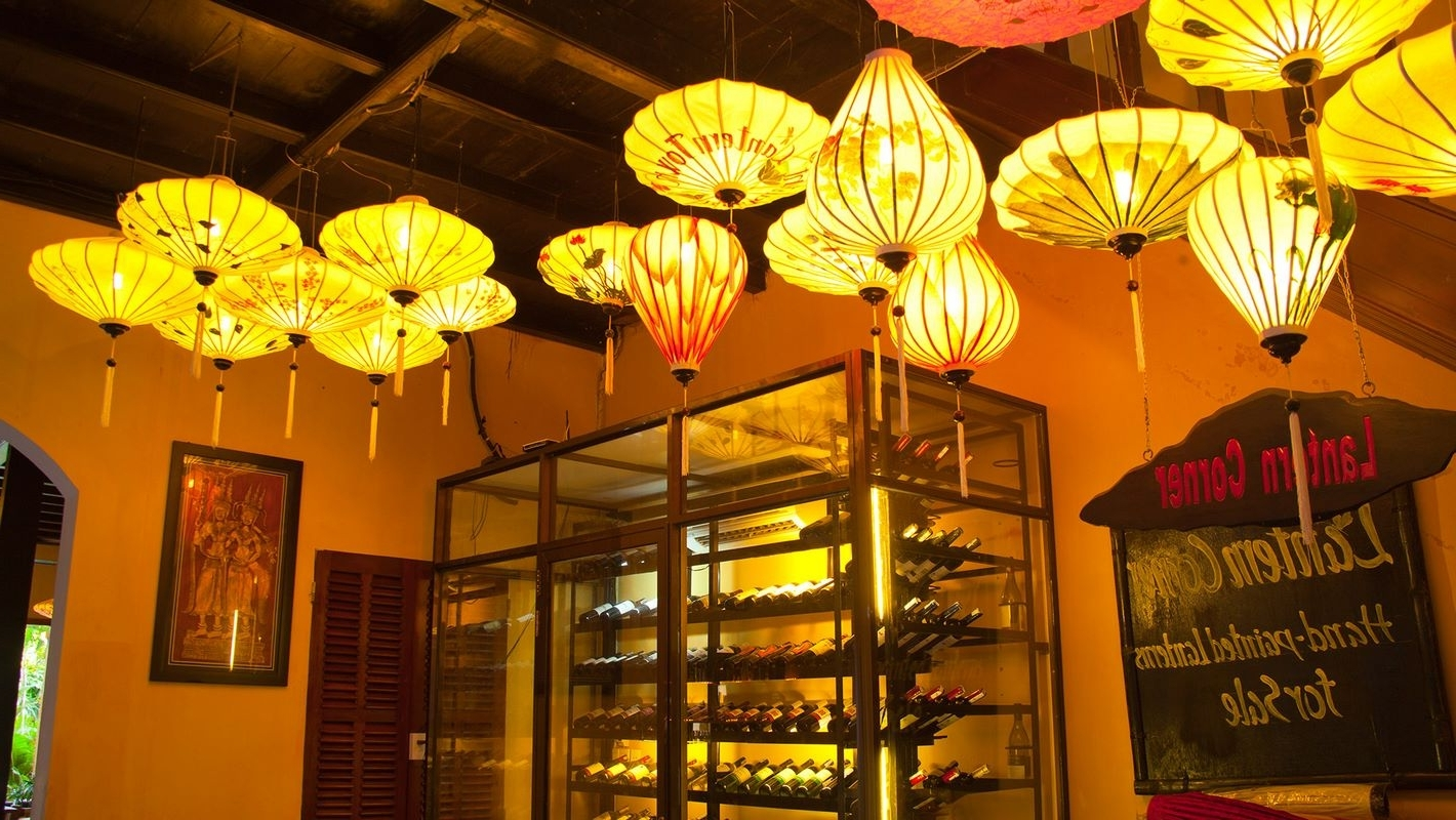 Outdoor Vietnamese Lanterns In Fashionable Lantern Town (Gallery 2 of 20)