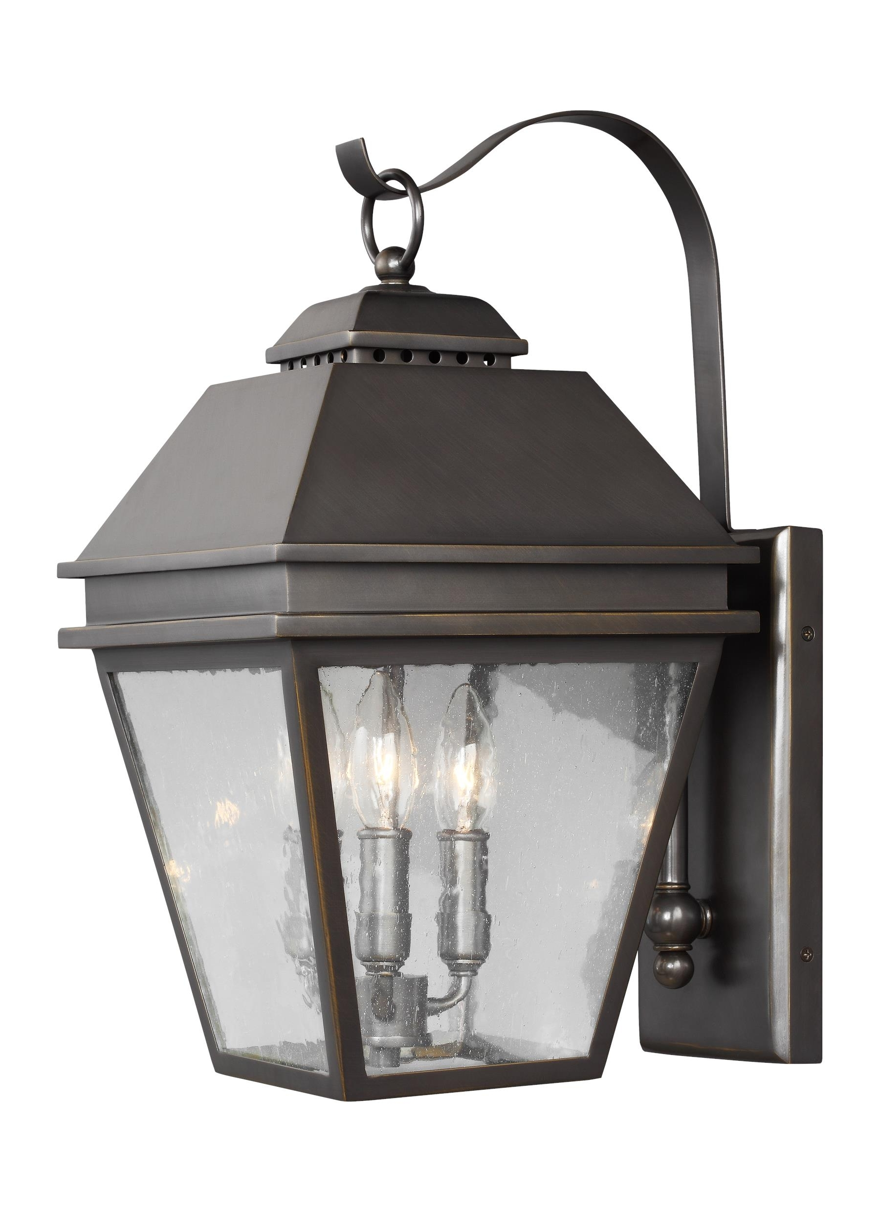 Outdoor Wall Lanterns For 2019 Ol13501Anbz,3 – Light Outdoor Wall Lantern,antique Bronze (View 11 of 20)