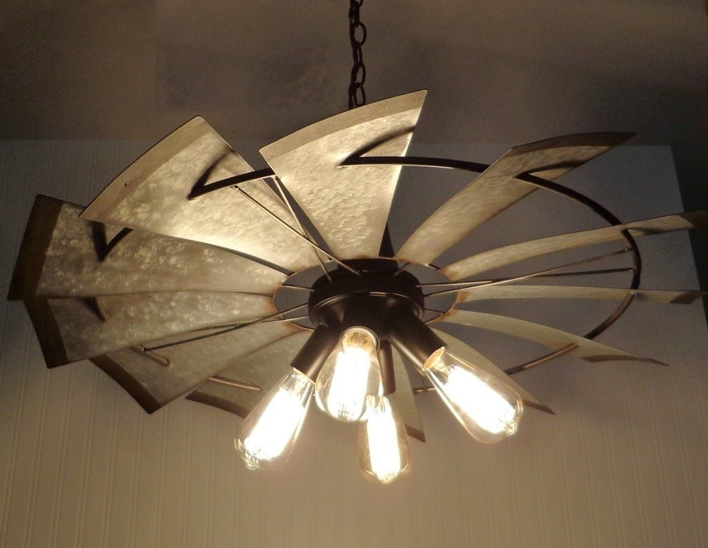 Featured Photo of Outdoor Windmill Ceiling Fans With Light