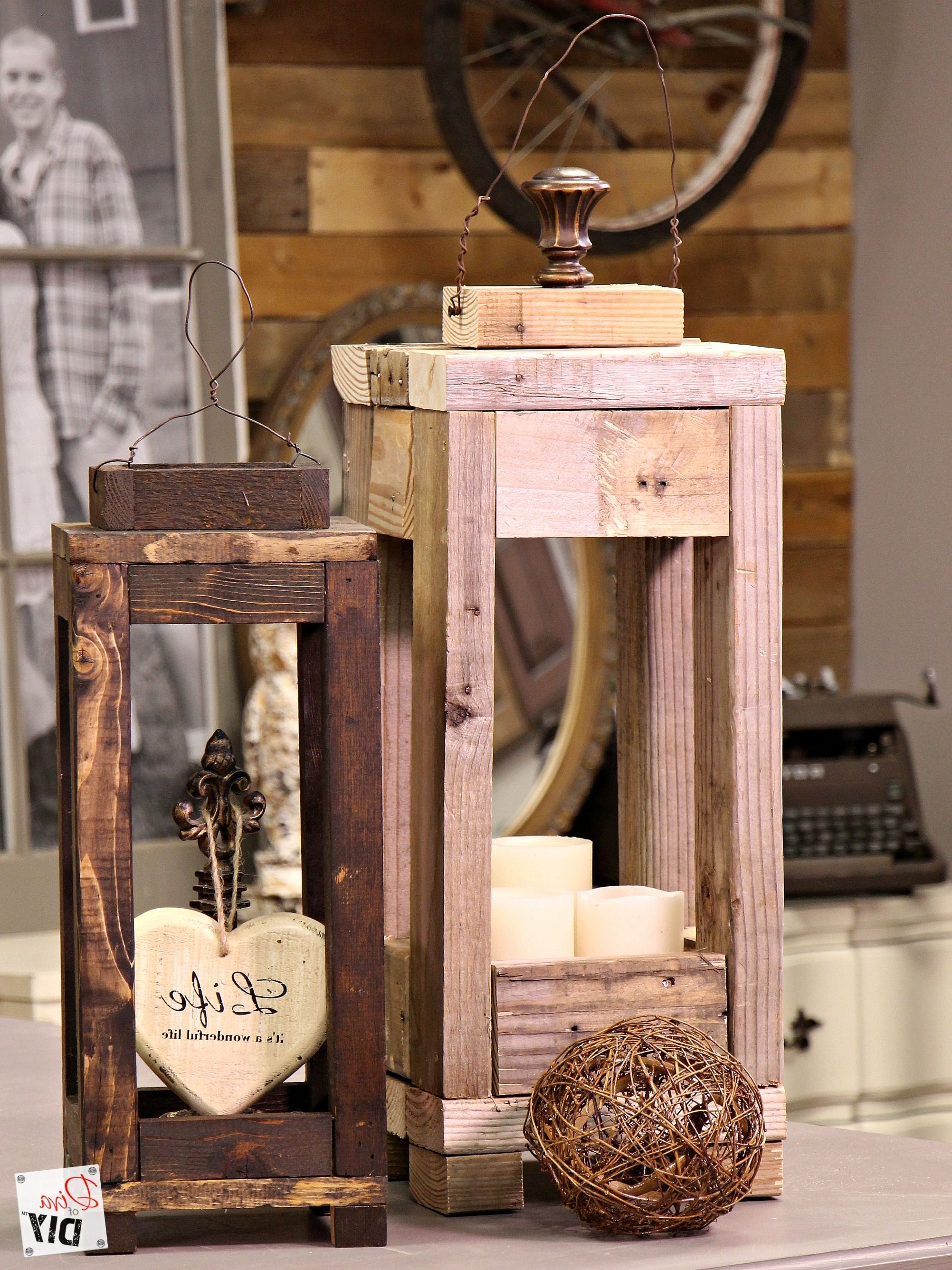 Outdoor Wood Lanterns Regarding Latest Easy Outdoor Decor: How To Make Lanterns From Scrap Wood (View 4 of 20)
