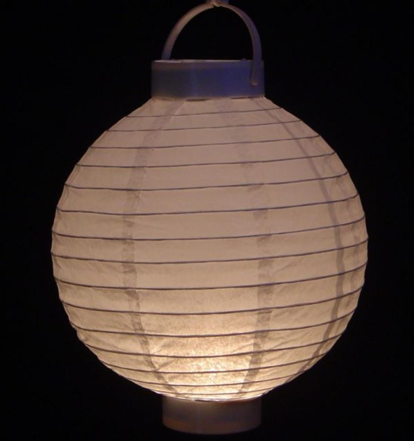 Pack Of 3 Lighted Battery Operated White Garden Patio Chinese Paper Inside Well Known Outdoor Battery Lanterns For Patio (View 3 of 20)
