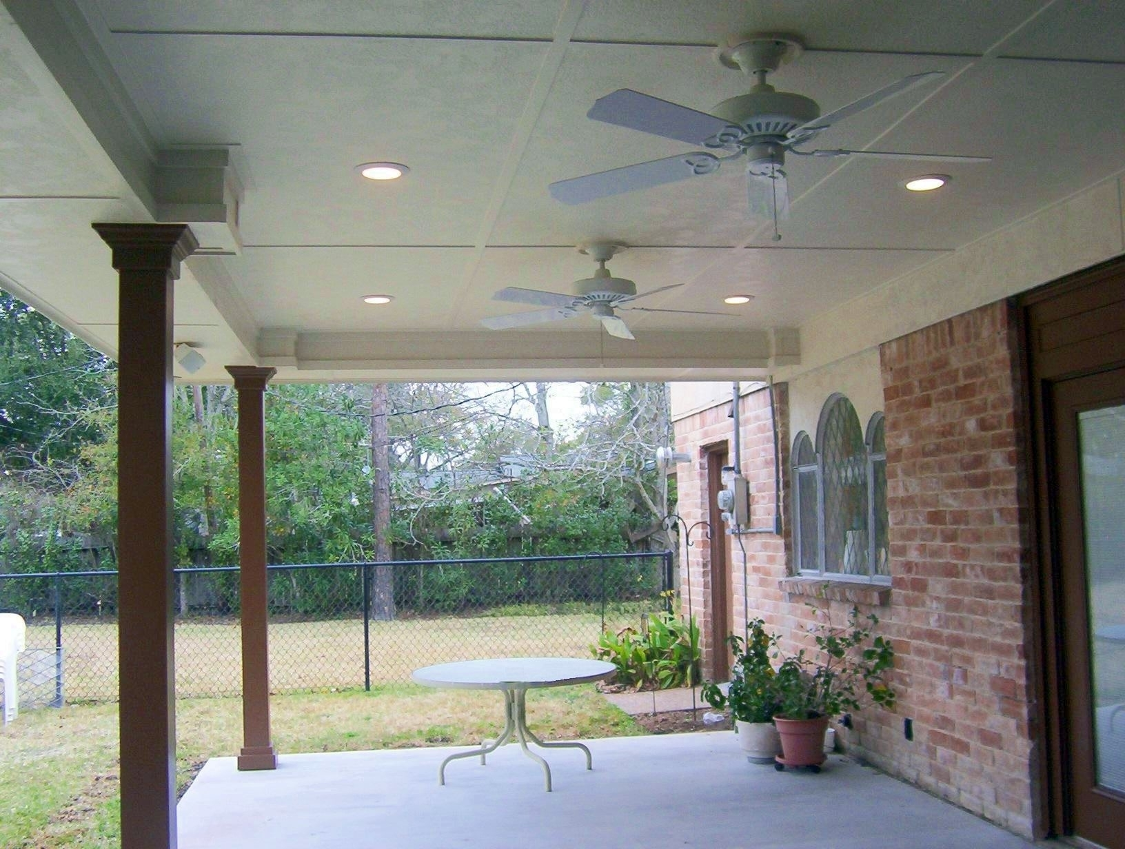 Patio Outdoor Ceiling Fan With Light — Sherizampelli Landscape Inside 2019 Outdoor Ceiling Fans For Patios (View 18 of 20)