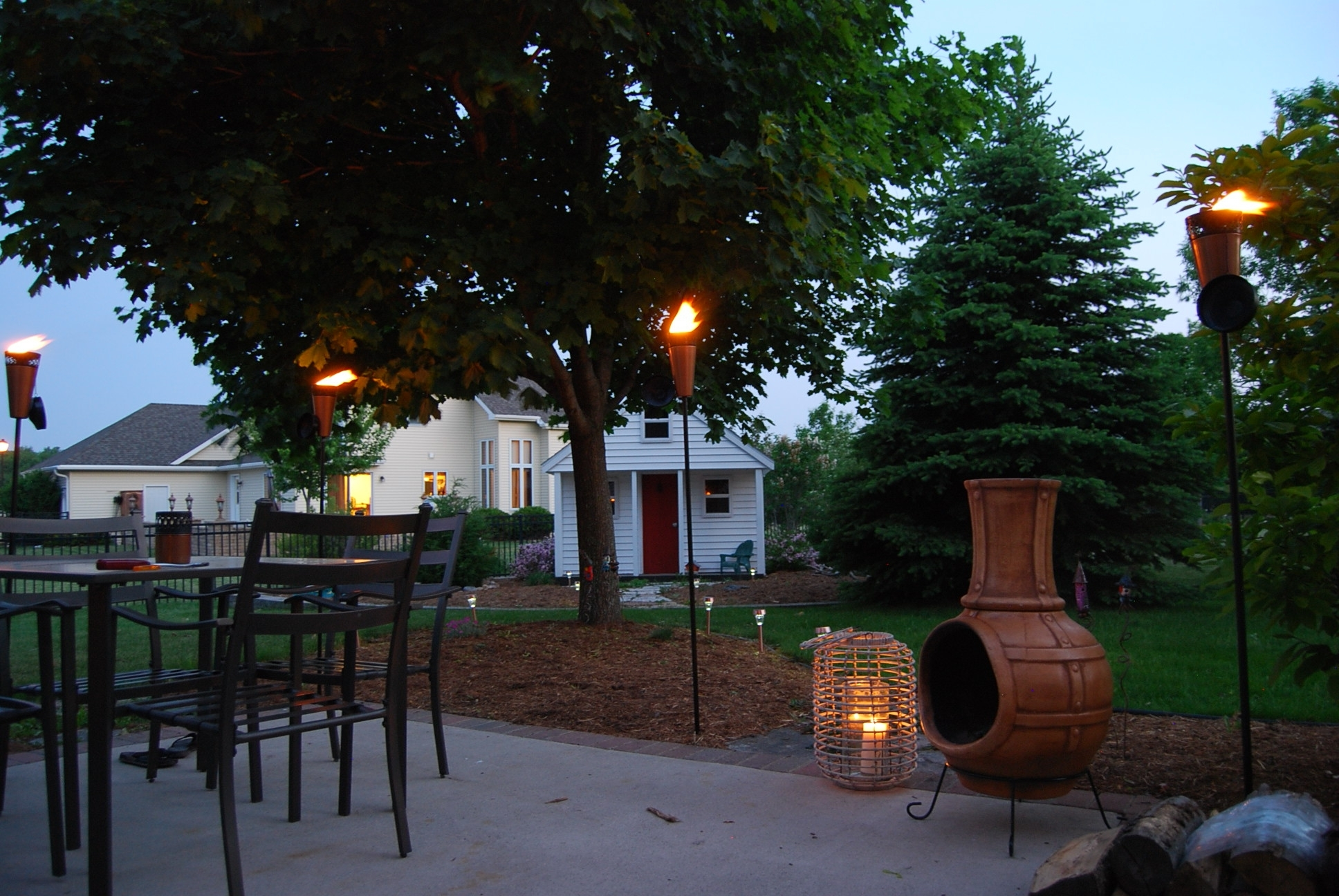 Patio Torches New Propane Tiki Torches For Sale Led Flame Lamp For 2019 Outdoor Tiki Lanterns (Gallery 20 of 20)